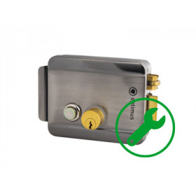Установка электронных, магнитных, электромагнитных, электромеханических замков